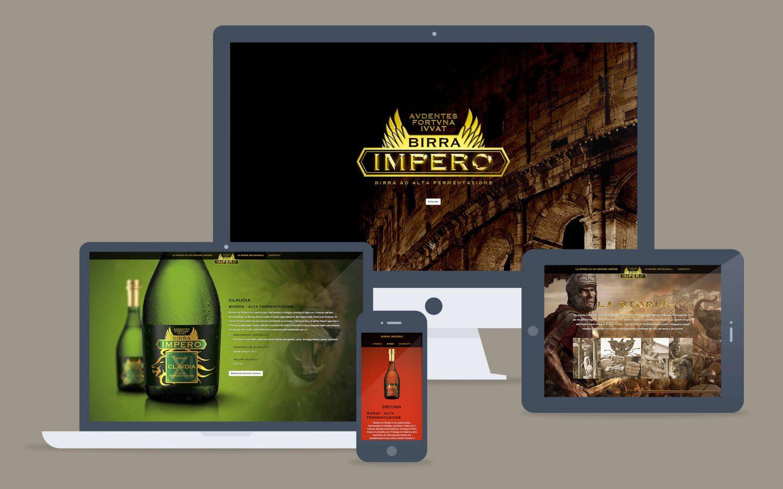 Birra Impero / web site - Fosforica