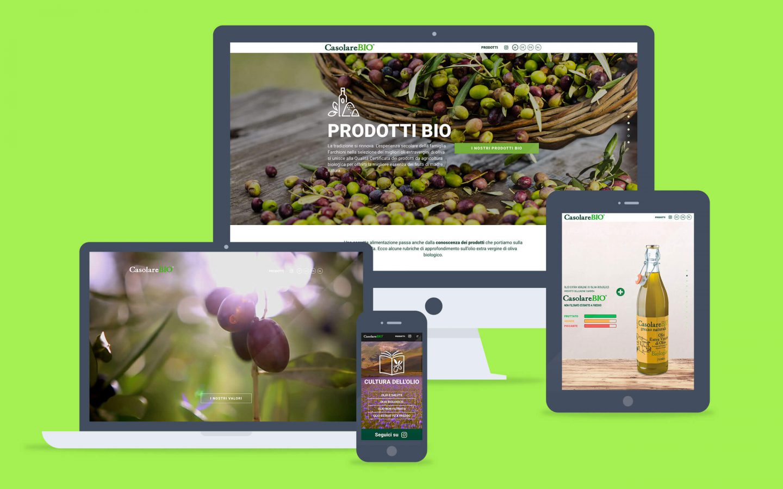 Casolare Bio / web site - Fosforica