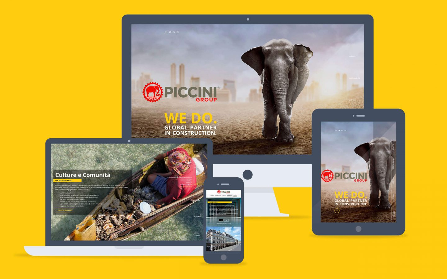 Piccini Group / web site - Fosforica