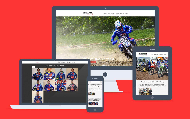 Salucci Racing / web site - Fosforica