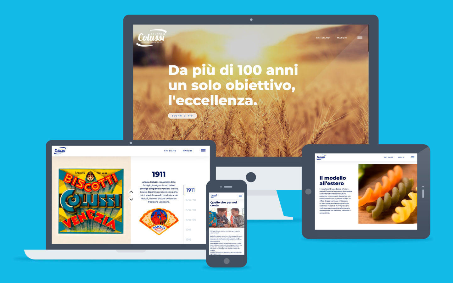 Colussi Group / web site - Fosforica